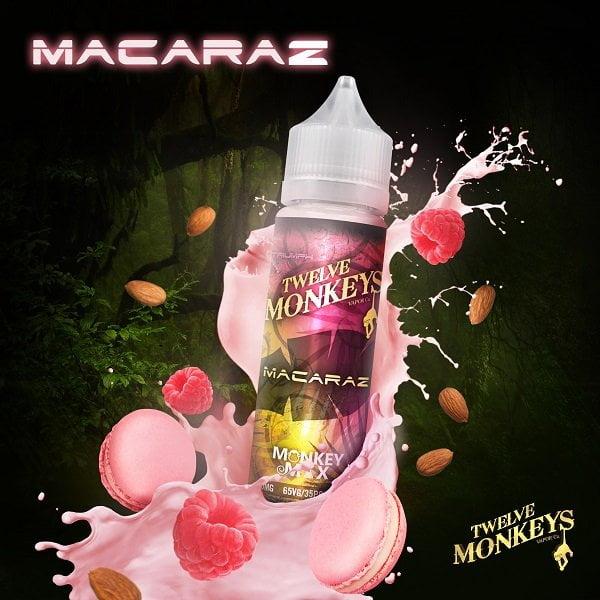 Twelve Monkeys Macaraz Shortfill