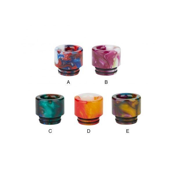Mixed Resin Drip Tip 810 Farben