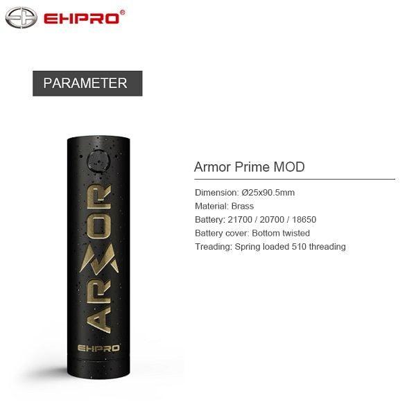 Ehpro Armor Prime Spezifikation