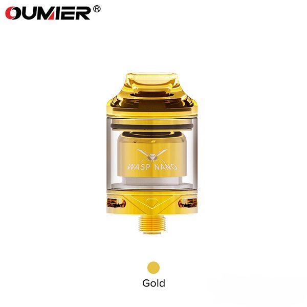 Oumier Wasp Nano RTA Gold DH