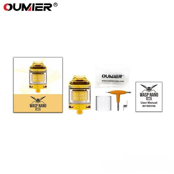 Oumier Wasp Nano RTA Package DH