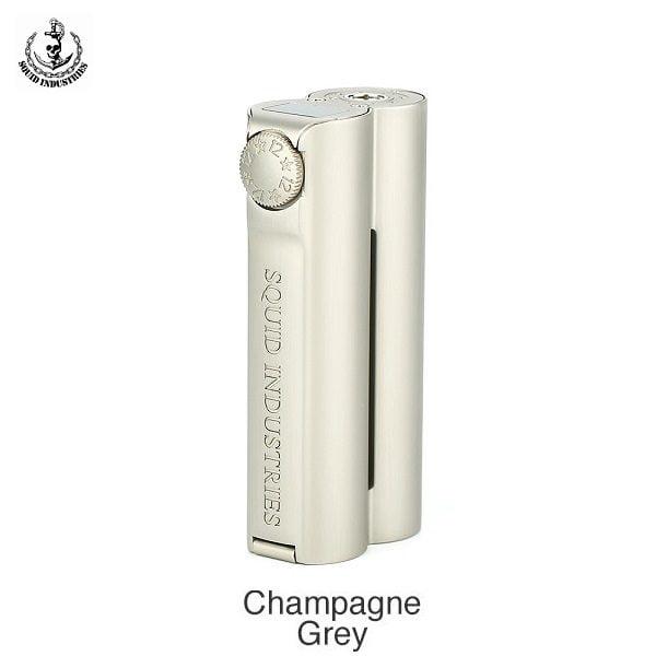 Squid Industries Double Barrel V3 Akkutraeger Champagner Grey