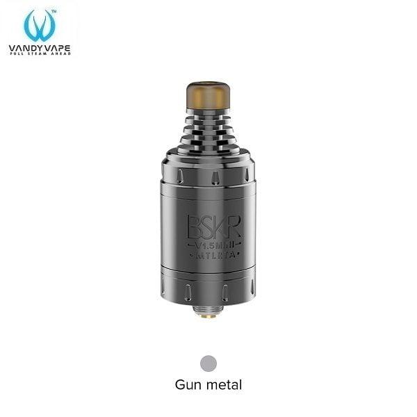 Vandy Vape Berserker V1.5 MTL RTA Gun Metal