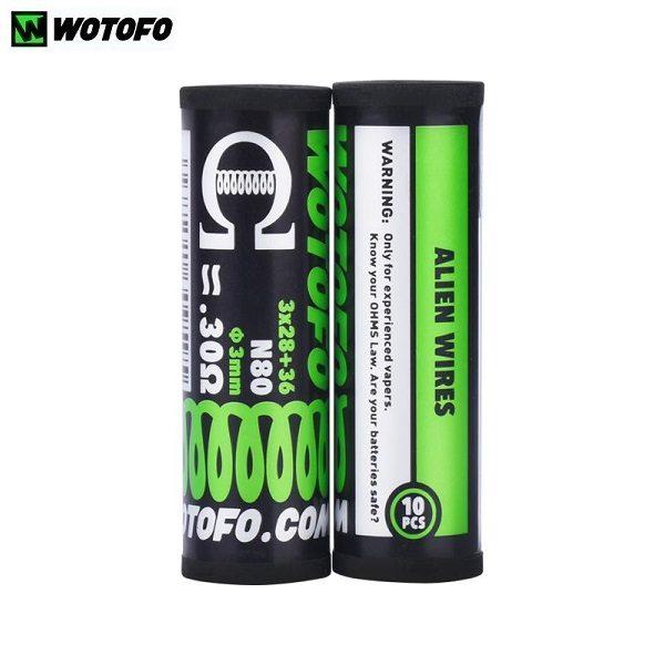 Wotofo Alien Coil 0.3 Ohm Zylinder