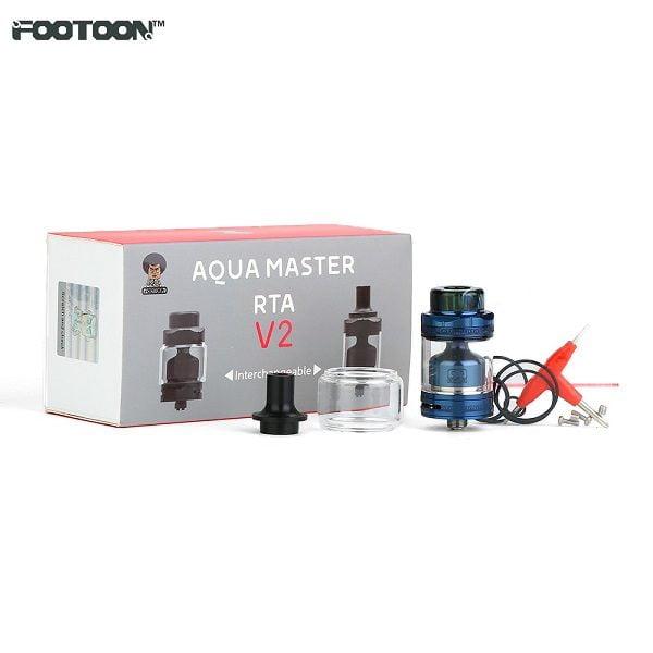 Footoon Aqua Master V2 RTA Lieferumfang