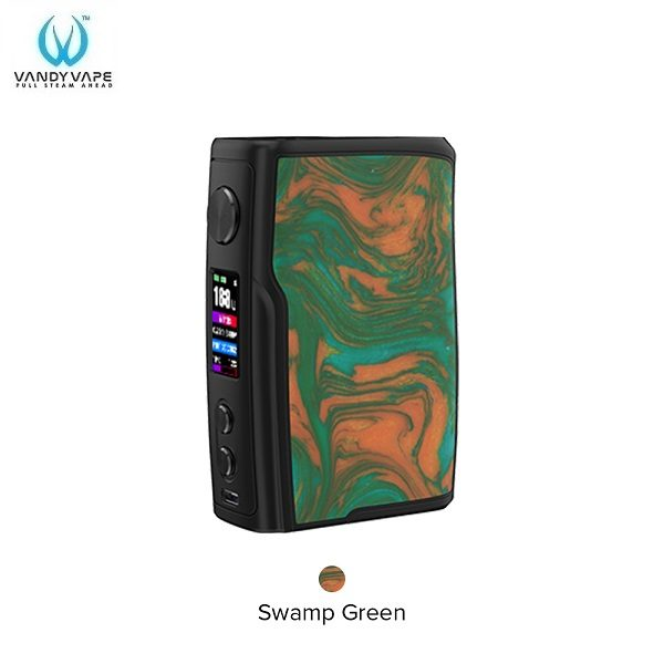 Vandy Vape Swell Akkutraeger Swamp Green