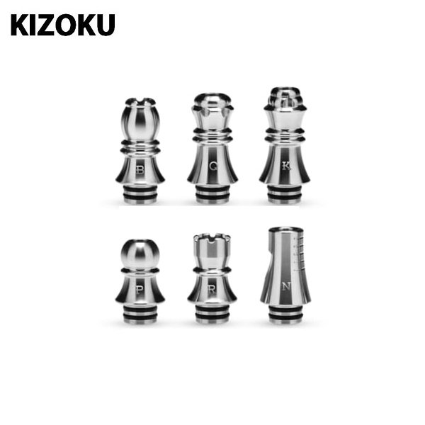 Drip Tip 510 Kizoku Chess SS Titel