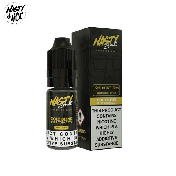 Nasty Juice Gold Blend Titel