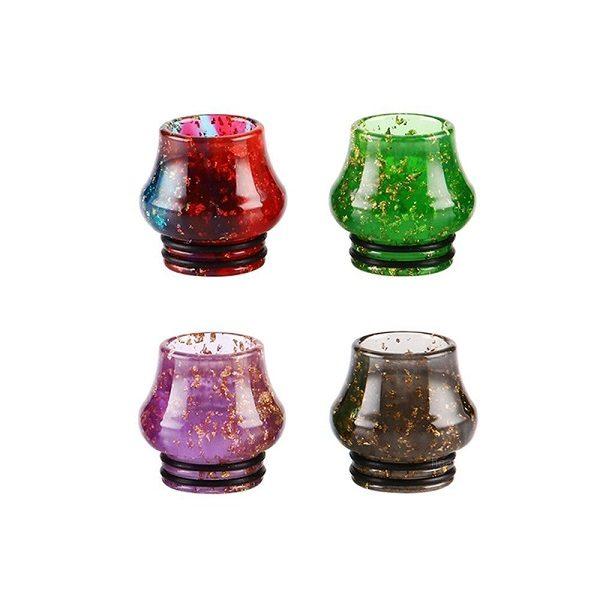 Resin Bulb Drip Tip 810 Titel