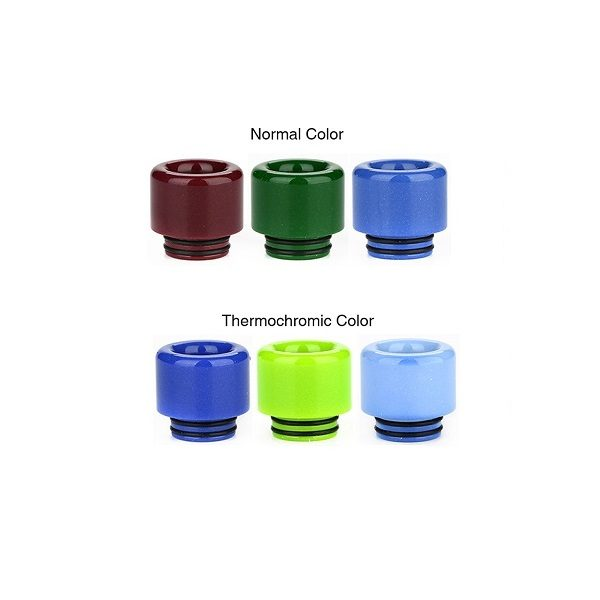 Resin Thermochromic Drip Tip 810 Farbe