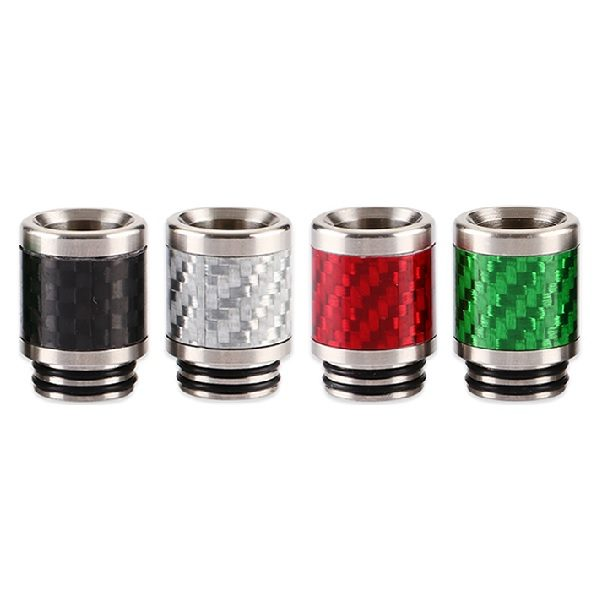 Stainless Steel Carbon Drip Tip Titel