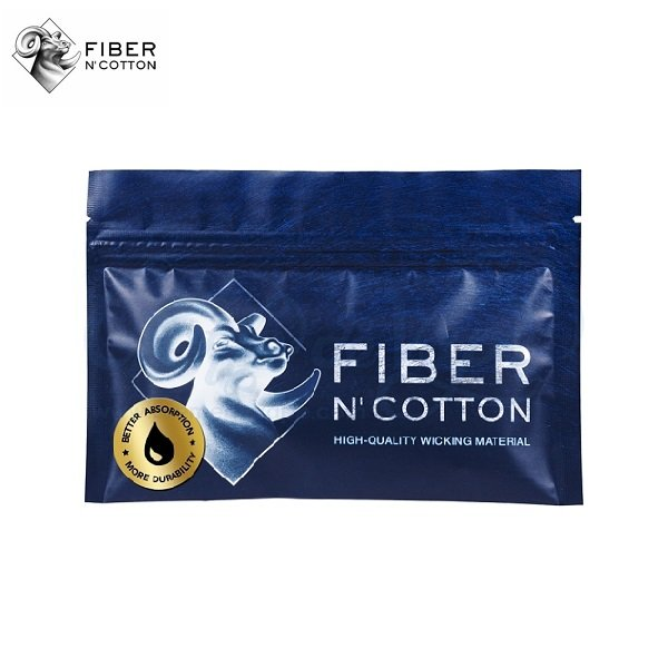 Fiber N Cotton V2 Cellulosefaser und Watte