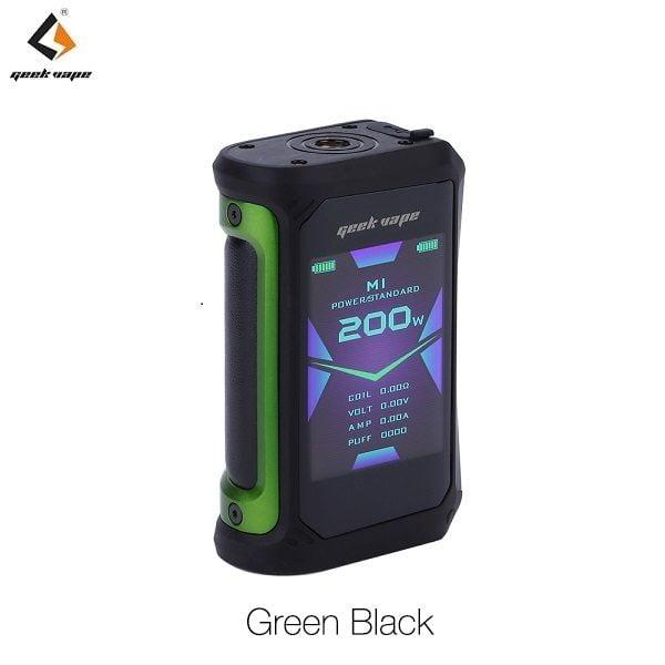 Geekvape Aegis X Akkutraeger Green Black