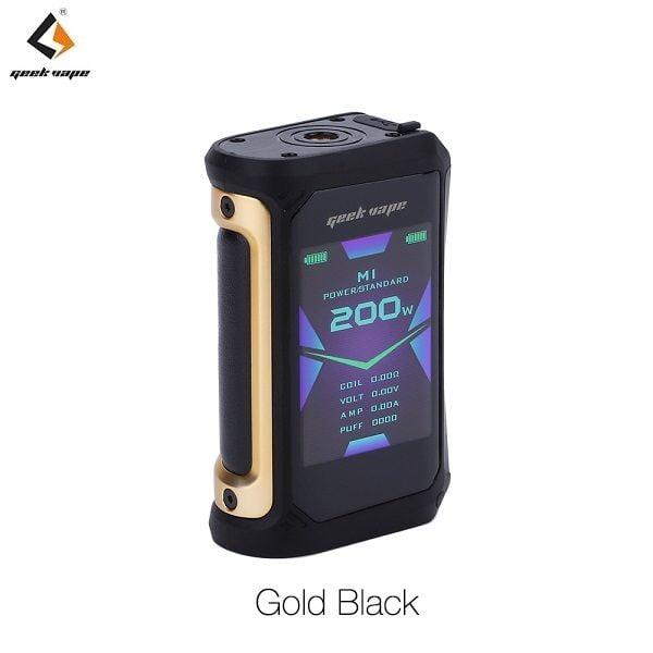 Geekvape Aegis X Akkutraeger Gold Black