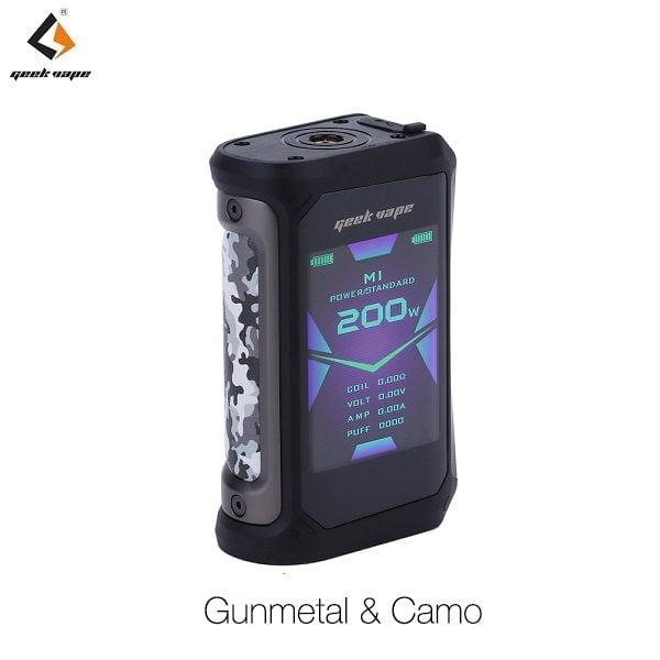 Geekvape Aegis X Akkutraeger Gunmetal & Camo