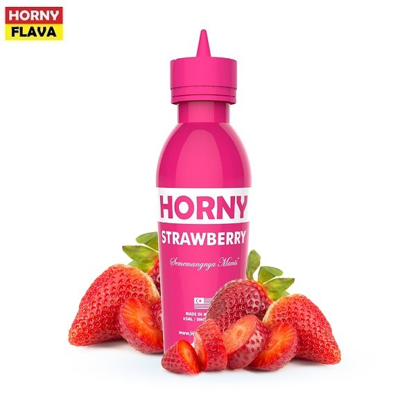 Horny Flava Strawberry Titel