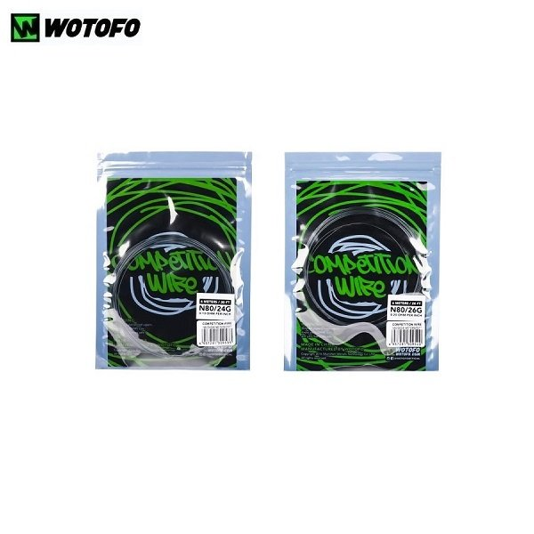 Wotofo Competition Wire Ni80 Titel
