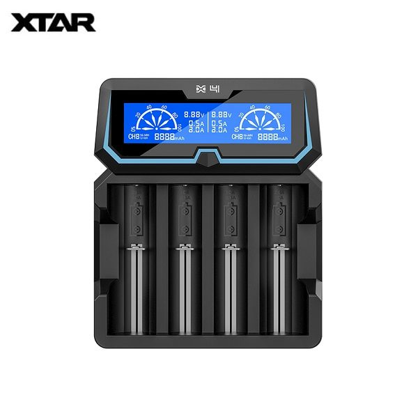 Xtar X4 Ladegeraet Titel