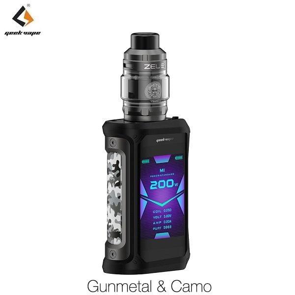 Geekvape Aegis X Zeus Set Gunmetal & Camo