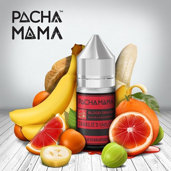 Pacha Mama Blood Orange Banana Aroma