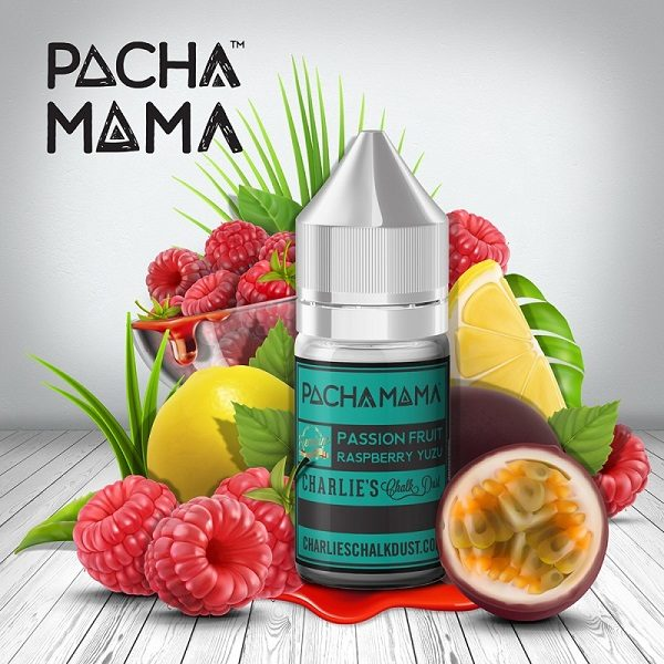 Pacha Mama Passion Fruit Raspberry Aroma Titel