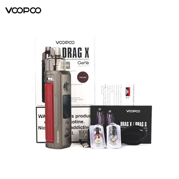 Voopoo Drag X Podmod Lieferumfang