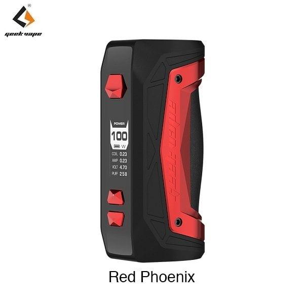 Geekvape Aegis Max Akkutraeger Red Phoenix