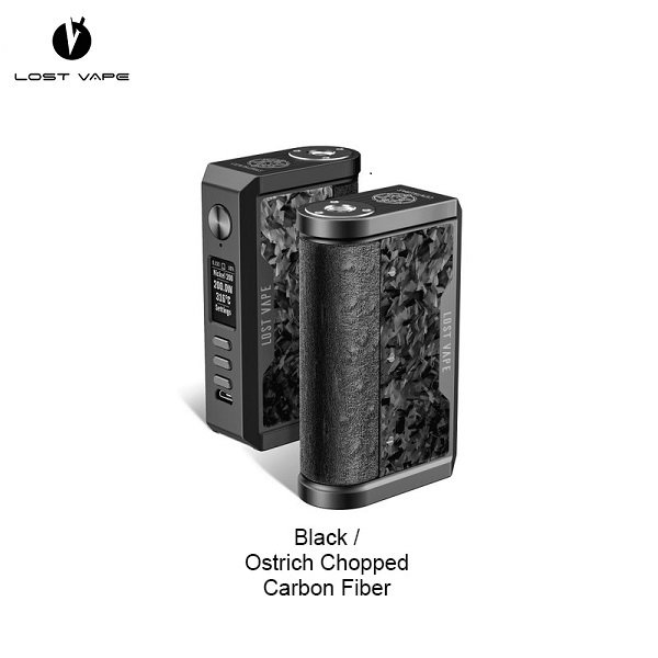 Lost Vape Centraurus Chopped Carbon