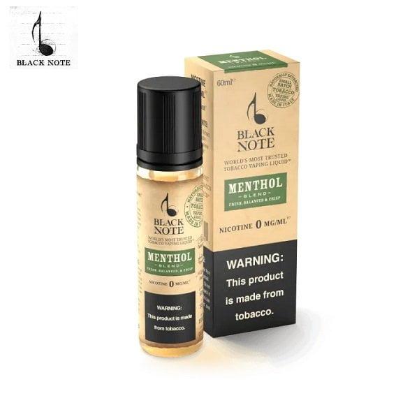 Black Note Menthol Liquid
