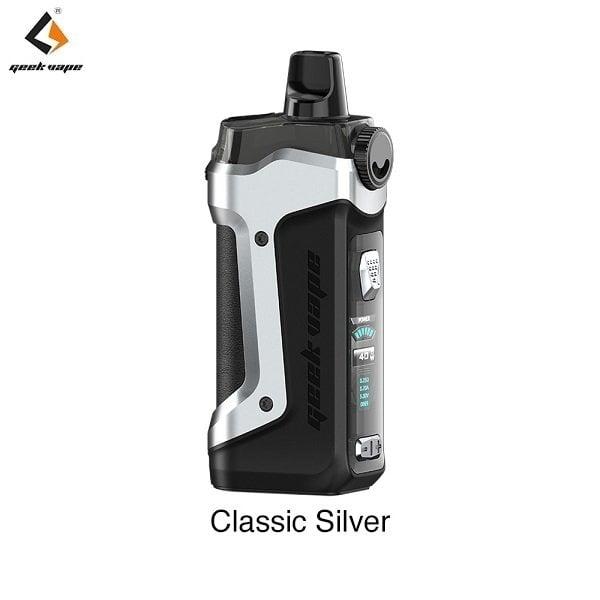 Geekvape Aegis Boost Plus Classic Silver