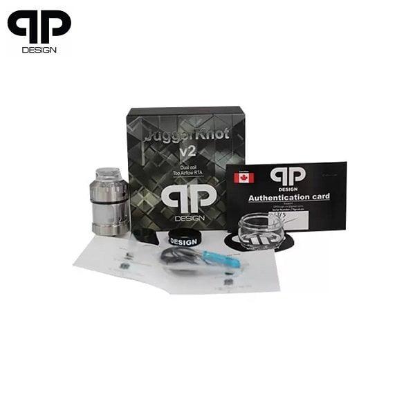 QP Design Juggerknot V2 Lieferumfang