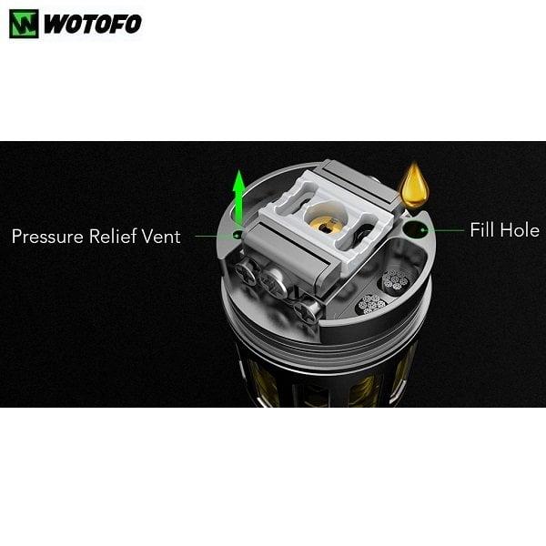 Wotofo Profile RDTA Einfüllöffnung