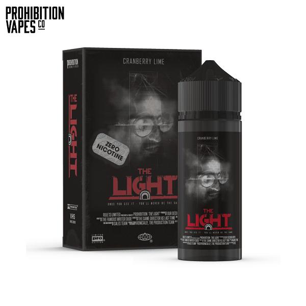 Prohibition Vapes The Light Shortfill