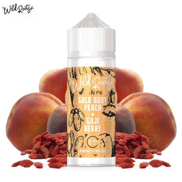 Wild Roots Gold Dust Peach E-Liquid