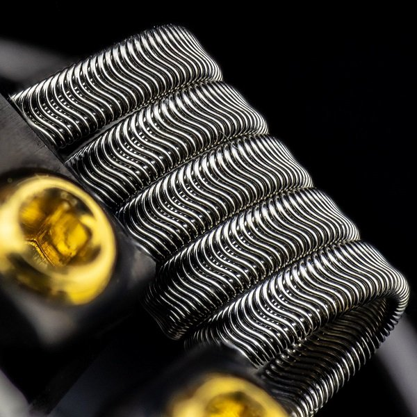 Alien Framed Staple Coils Twisted Messes
