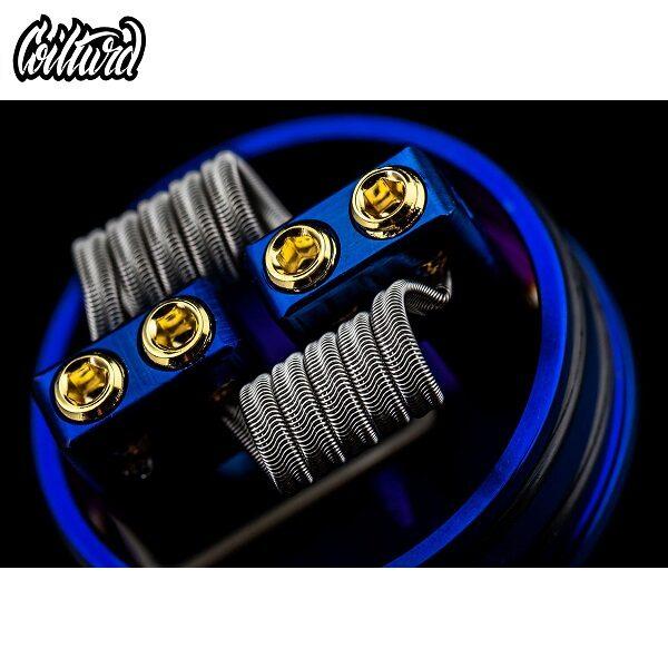 Coilturd Tri Core Alien Coils USA