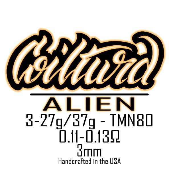 Coilturd Tri Core Alien Coils 27GA