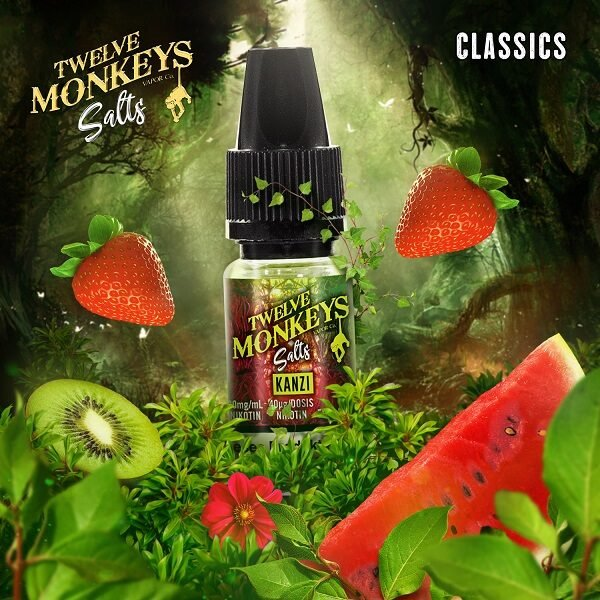 Twelve Monkeys Kanzi Nic Salt