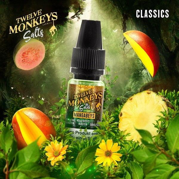 Twelve Monkeys Mangabeys Nic Salt