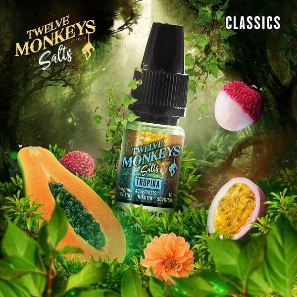 Twelve Monkeys Tropika Nic Salt