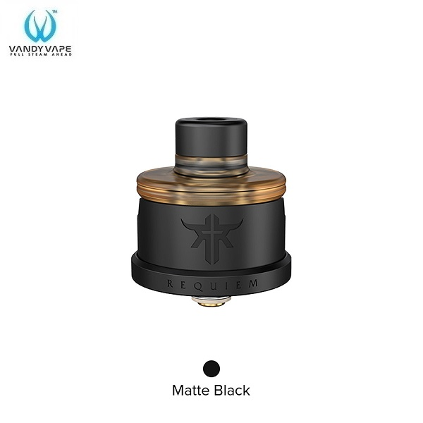Vandy Vape Requiem RDA Matte Black