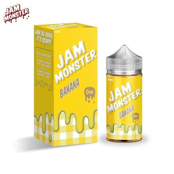 Jam Monster Banana E-Liquid