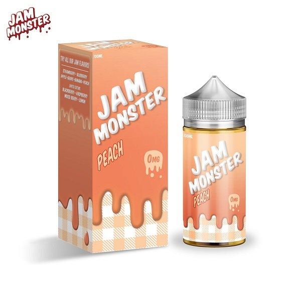 Jam Monster Peach E-Liquid