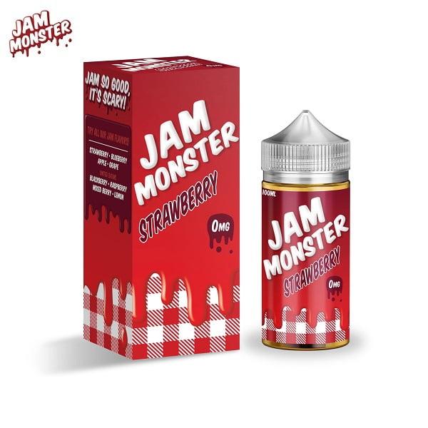 Jam Monster Strawberry E-Liquid