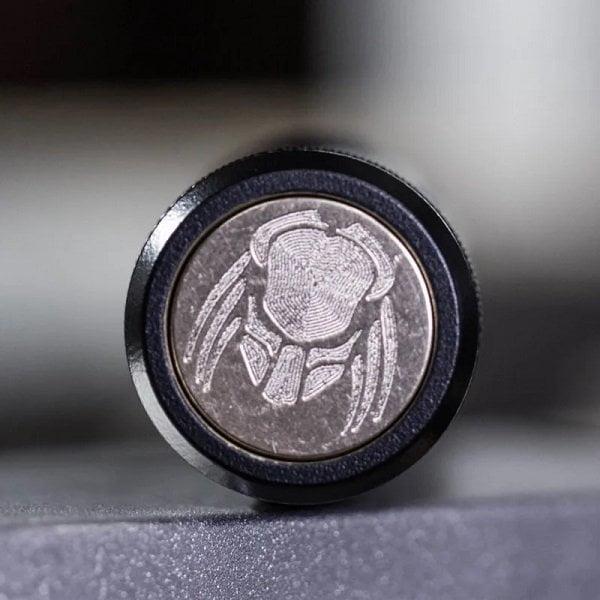 Russian Custom Mods Predator Black Button