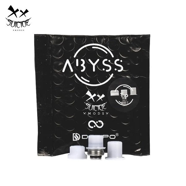 Suicide Mods Abyss Drip Tip Lieferumfang