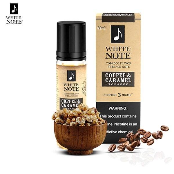 White Note Coffee Caramel Tobacco E-Liquid