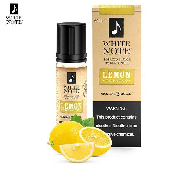 White Note Lemon Tobacco E-Liquid