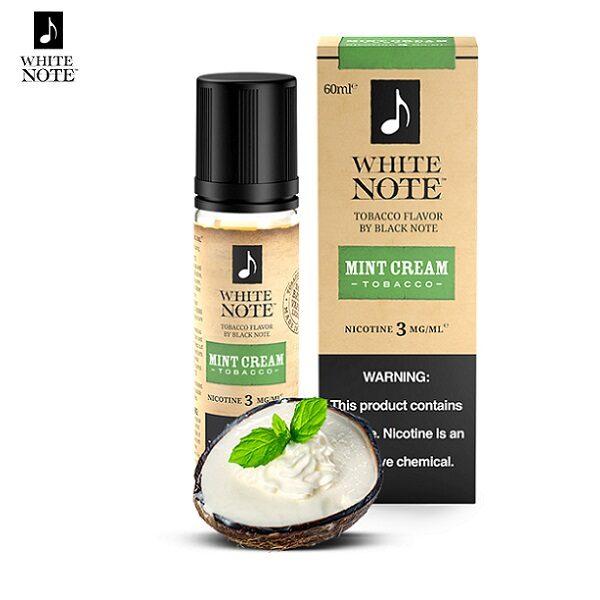 White Note Mint Cream Tobacco E-Liquid