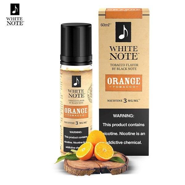 White Note Orange Tobacco E-Liquid